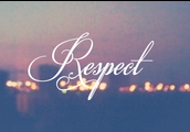 Respecting one another