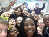 Mrs. Bradshaw, let's take a selfie!