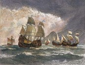 A portrait of Magellan's ships