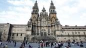 The Catedral de Santiago de Compostela