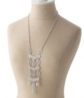 Kimberly Necklace Silver- Was $89 Now $45