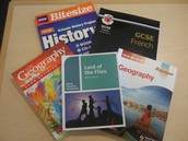 Selection of GCSE Guides Available