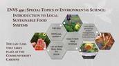 Intro to Local Sustainable Food Systems