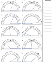 Lesson 14-4 Measuring with Unit Angles