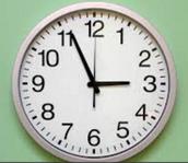 Set Your Clocks