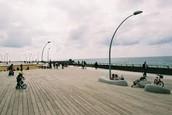 the Promenade in TEL AVIV