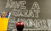 I hope you have a great Summer!