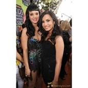Katy and Demi