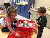 Mrs. Moynahan's Pre-K friends had a blast experimenting with snow & colors