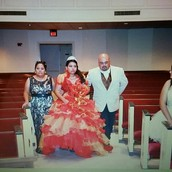 My quinceñera was on October 31, 2015