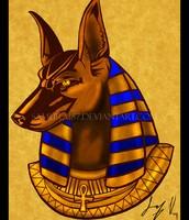 Anubis Osiris' Helper