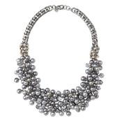 Isadora Pearl Bib Necklace