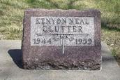 Kenyon's Grave