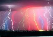 Weird Lightning!