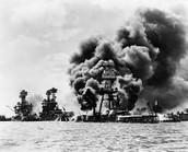 Sunday morning the bombing of Pearl Harbor