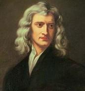Painting of Issac Newton