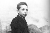 Sir Isaac Newton as a little boy
