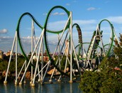 Incredible Hulk Coaster in Universal Studious