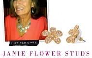 Janie Flower Studs