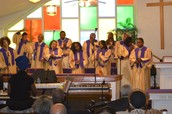 Concord Choir Giving God the Praise