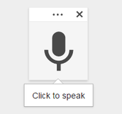 Tip of the Week- Voice Typing in Google