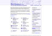the mathworksheet site
