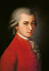 Mozart was born in January 27, 1756