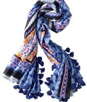 Capri Lightweight Cotton Wrap