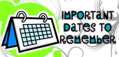 4th Grade Testing Dates