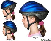 make sure your helmet fits you