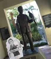 Frank Miller Statue