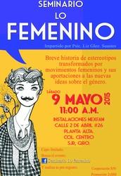 Movimientos femeninos y sus aportaciones a la nuevas ideas sobre el género