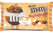 Pumpkin Spice Latte M&Ms