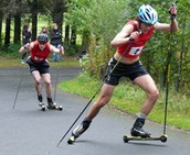 NMVE 1 Mile Uphill Roller Ski Time Trial