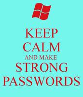 your password!