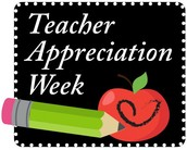 Thank You for a Great Teacher Appreciation Week