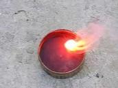Lithium burning