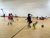 Teamwork Building Using Bounce Passing