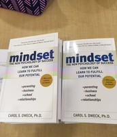 "Estabrook Staff read ""Mindset"" by Carol Dweck"