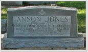 Anson Jones Grave