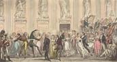 Large ballroom dances