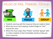 Musical Mix, Freeze, Group