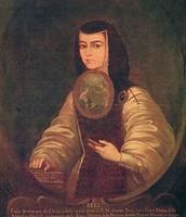 Painting by Friar Miguel de Herrera