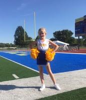 Carmel cheer-leader!