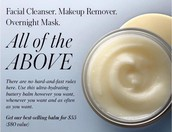 Cleansing Balm (On sale until Sept 30th for $55, regularly $80)