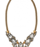 Zora Crystal Necklace **SOLD**