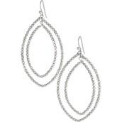 Silver Bardot Earrings