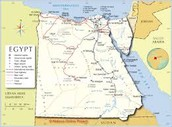 Map of Egypt