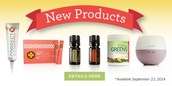 New Essential Oils, Diffuser, CorrectX, TerraGreens and more!