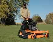 Our machine to cut your grass!